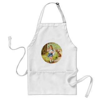 Alice and the Pig Baby Adult Apron