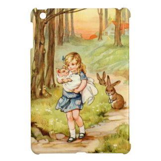 Alice and the Pig Baby in Wonderland iPad Mini Cover