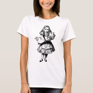 Alice and the Pig Baby Inked Black T-Shirt