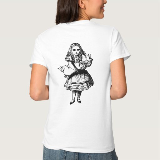 Alice and the Pig Baby Inked Black Tshirt