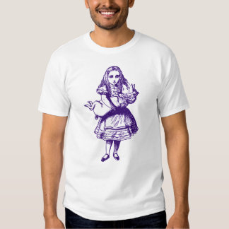 Alice and the Pig Baby Inked Purple Tee Shirt