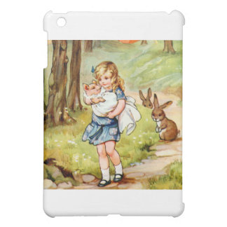 Alice and the Pig Baby iPad Mini Cases