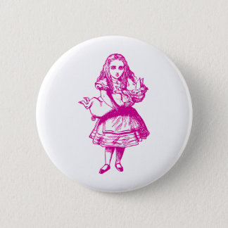 Alice and the Pig Baby Pink Button
