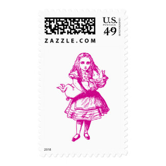 Alice and the Pig Baby Pink Postage
