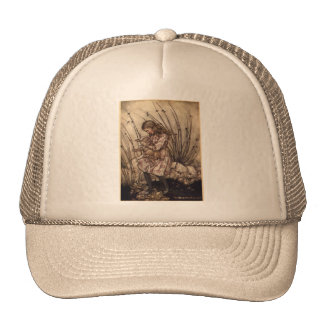 Alice and the Pig Trucker Hat
