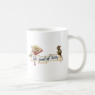 Alice and The Pool of Tears. Classic White Coffee Mug