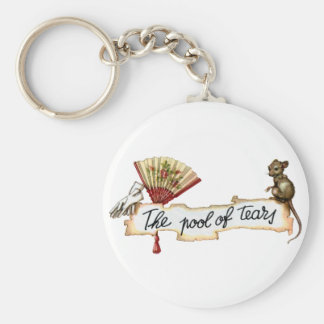 Alice and The Pool of Tears. Keychain