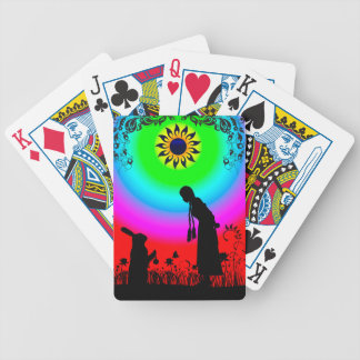 Alice and the Rabbit Bicycle Playing Cards