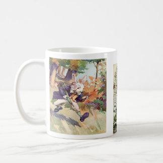 Alice and the Rabbit ~ Coffee Cup / Mug