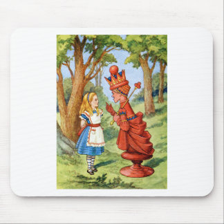 ALICE AND THE RED QUEEN MOUSE PAD