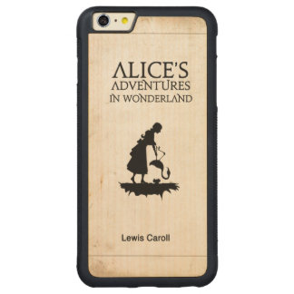 Alice And The Stork On Wood Carved Maple iPhone 6 Plus Bumper Case