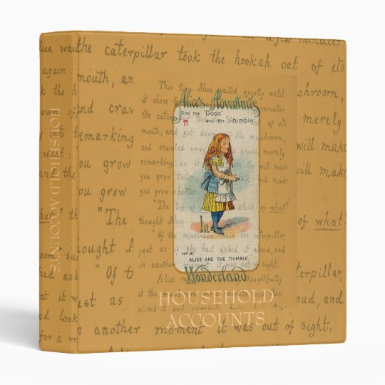 Alice and the Thimble Binder