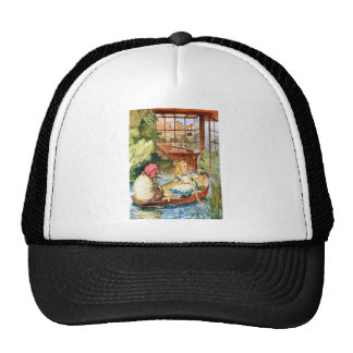ALICE AND THE WEIRD OLD SHEEP SHOPKEEPER TRUCKER HAT