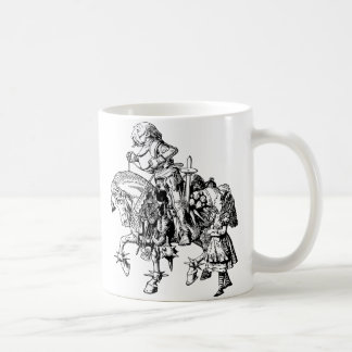 Alice and the White Knight Coffee Mug