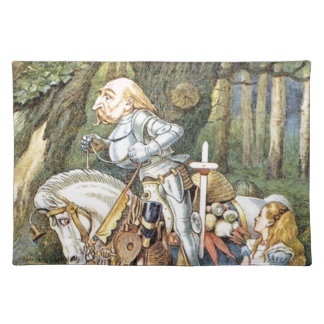 Alice and the White Knight Placemat