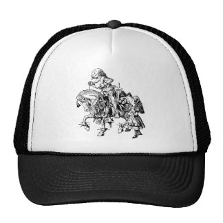 Alice and the White Knight Trucker Hat