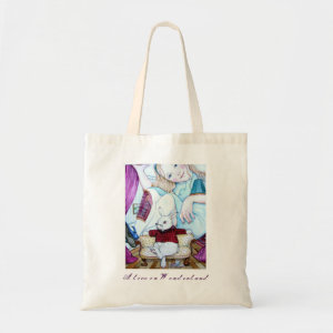 Alice and The White Rabbit bag