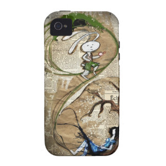 Alice and the White Rabbit Vibe iPhone 4 Case