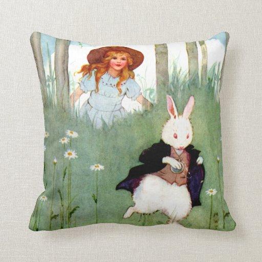 Rabbit Pillows, Rabbit Throw Pillows