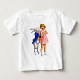 ALICE AND THE WHITE RABBIT TEE SHIRT
