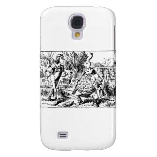 Alice and Tweedle Dee and Tweedle Dum Samsung Galaxy S4 Cover