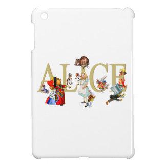 Alice and Wonderland and Friends iPad Mini Covers