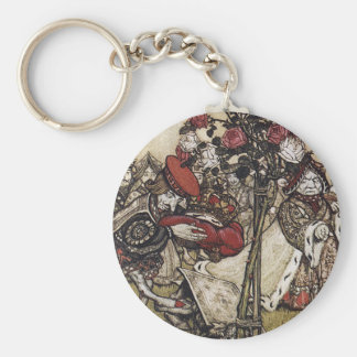 Alice and Wonderland - Arthur Rackham Keychain