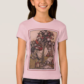 Alice and Wonderland - Arthur Rackham T-Shirt