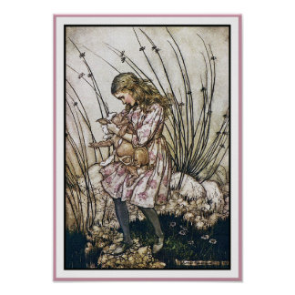 Alice and Wonderland - Pig Pepper by Rackham Print