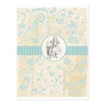 Alice and Wonderland Vintage Gifts Postcard