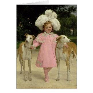 Alice Antoinette de la Mar, aged five Card