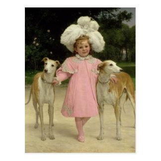 Alice Antoinette de la Mar, aged five Postcard