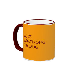 ALICE ARMSTRONG TEA MUG