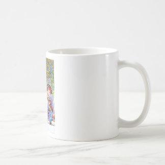 Alice at the Mad Hatter's Tea Paty. Coffee Mug