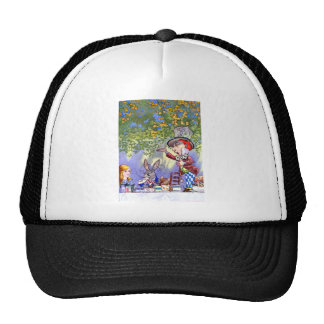 Alice at the Mad Hatter's Tea Paty. Trucker Hat