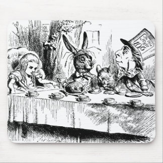 Alice at the Mad Tea Party Mouse Mats