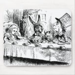 Alice at the Mad Tea Party Mouse Pad