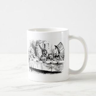 Alice at the Mad Tea Party Coffee Mugs