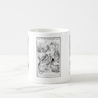 Alice at the Story-Telling Party Classic White Coffee Mug