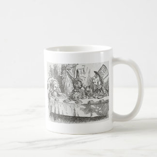 Alice at the Tea Party Coffee Mugs