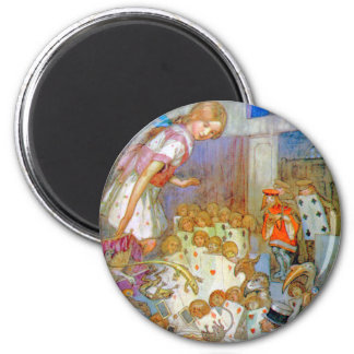 Alice at the Trial of the Knave of Hearts Magnet