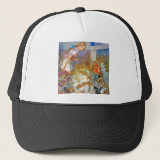 Alice at the Trial of the Knave of Hearts Trucker Hat