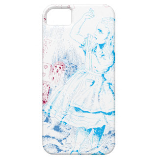 Alice Attacked By Cards iPhone 5 Case
