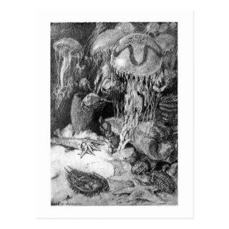 Alice B. Woodward: Cambrian Marine art postcard