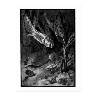 Alice B. Woodward: Devonian Period art postcard