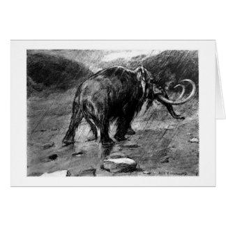 Alice B. Woodward: Mammoth art card
