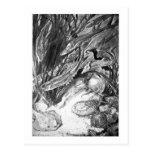 Alice B. Woodward: Silurian Marine art postcard