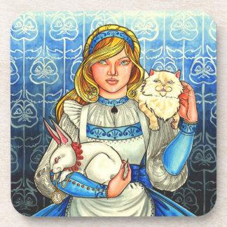 Alice Beverage Coasters