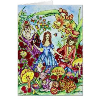 Alice Birthday Card