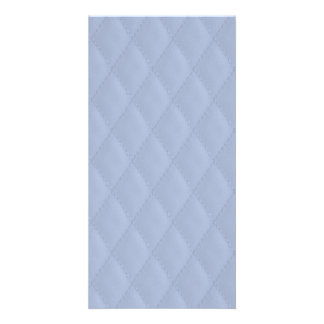 Alice Blue Diamond Quilted Stitched Pattern Card